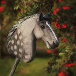 Hobbyhorse 'Ashen Dystopia' by Eponi-hobbyhorses