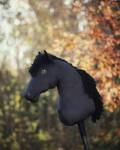 Hobbyhorse 'Diablo' by Eponi-hobbyhorses