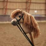 Hobbyhorse pony 'Dino' by Eponi-hobbyhorses