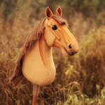 Hobbyhorse 'Montblanc' by Eponi-hobbyhorses