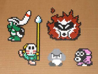 Mario Bros Bead Baddies 03 by zaghrenaut