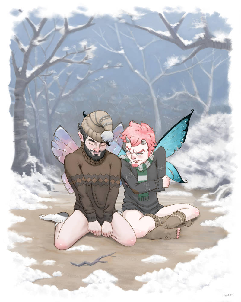 Fairies in the cold by Erick-FM