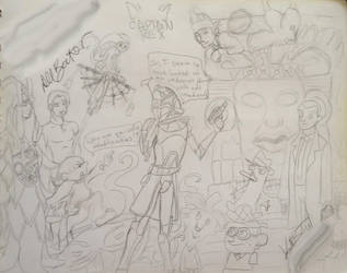 Signed Sketches: Dee Bradley Baker by Neosun7
