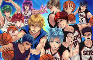 Seirin vs. Generation of Miracles by ComplexWish