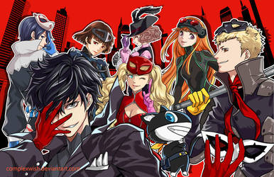 Persona 5 - Take back our city by ComplexWish