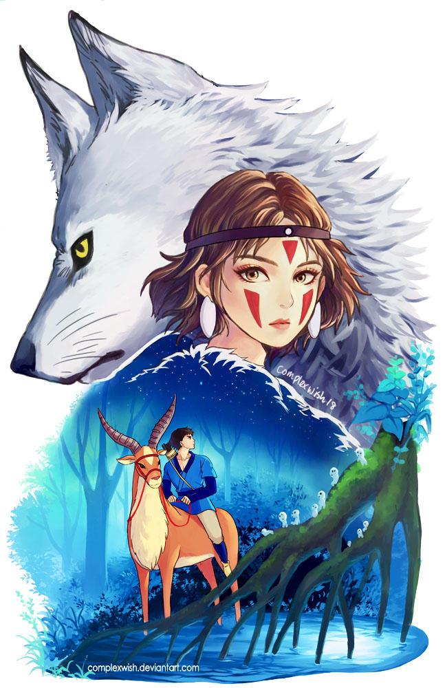 Princess Mononoke by ComplexWish