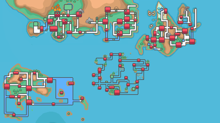 Map of Pokemon world by Assassannerr on DeviantArt