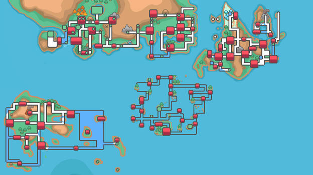 Map of Pokemon world by Assassannerr on DeviantArt