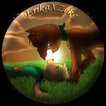ErikaXZeke by RymNotrim