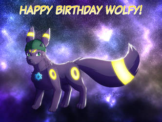 Happy Birthday Randomwolf! by RymNotrim