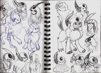 Absol Concepts by RymNotrim