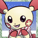 Plusle holiday icon by RymNotrim