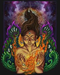 A Fire Inside by JulieBeloussow