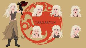 Daenerys Disney style by Spirit734