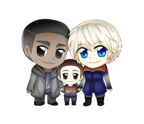 Detroit become Human Android Family by Yunuyei