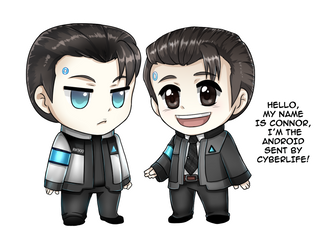 Hello, my name is Connor by Yunuyei