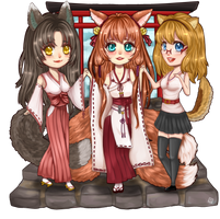 Chibi Commission .:Rumianyan:. by LeliaArtwork
