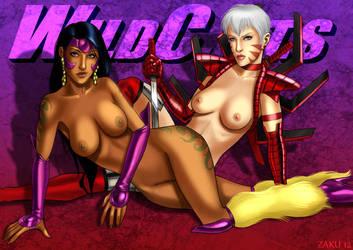 Voodoo and Zealot by zakuman