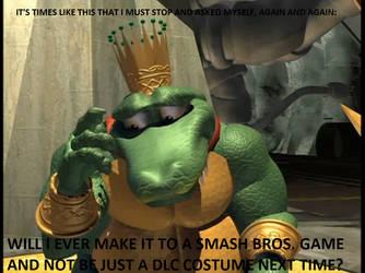 Smash Bros: King K. Rool LOSES in Smash Ballot by tallsimeon2003