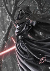 Kylo Ren by MF1989