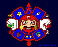 Tonatiuh Mario by Quetzalcoatl2k