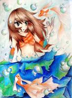Aqua by SakuraNekonessess