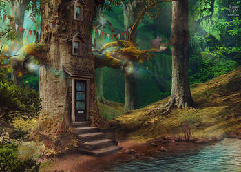 Home-Tree by Mr-Xerty