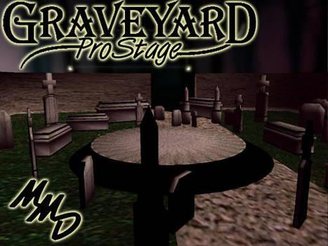 MMD Grave Yard Stage Download by SachiShirakawa