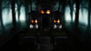 MMD Haunted House PerformStage by SachiShirakawa