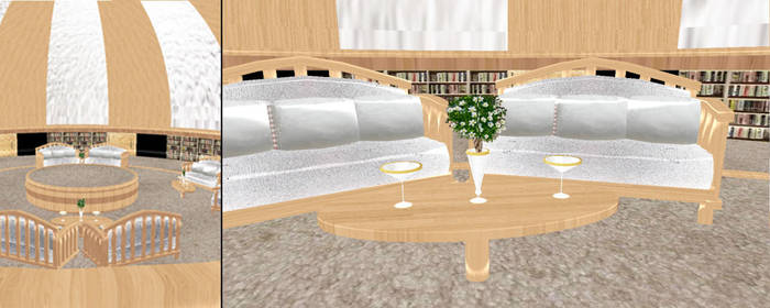MMD Perform Lounge Stage DL by SachiShirakawa