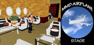 MMD Airplane Stage Download by SachiShirakawa