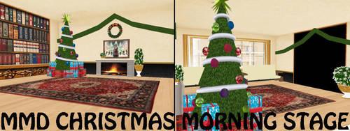 MMD Christmas Morning Stage by SachiShirakawa