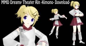 MMD Dreamy Theater Rin -Kimono- Download- by SachiShirakawa