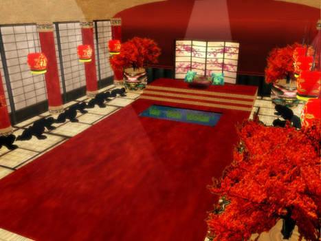 MMD Emperor Throne Room Stage DL by SachiShirakawa
