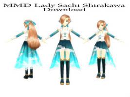 MMD Lady Sachi Shirakawa Download by SachiShirakawa