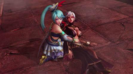 Cia and Lana by isaac77598