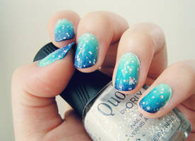 Blue Ombre by cheniie