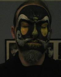 Xibalba face paint by FuninightmareShow