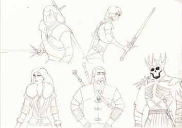 The Wild Hunt (Samurai Jack art style) by FuninightmareShow