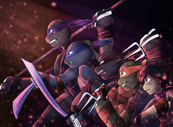 TMNT: Return of the Heroes! by Shenbug