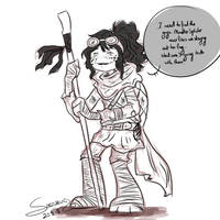 TMNT: Old Diana (Mutant Apocalypse arc) by Shenbug