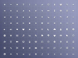 Free 128 x 16 x 16 Icon Set by mayack