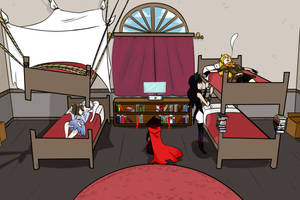 RWBY -  RWBY Comic Collab 3rd Edition ! by Uchiky