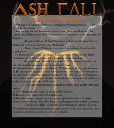 Ash Fall: The Rules by TwilightWolfSpirit