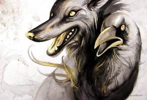 Wolf of No Return by caroro