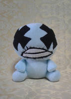 Binding of Isaac Blue Baby Plush by Puffylover1