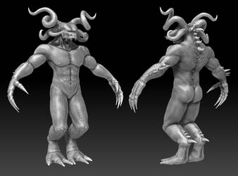 Creature 1 - WIP by turjuque