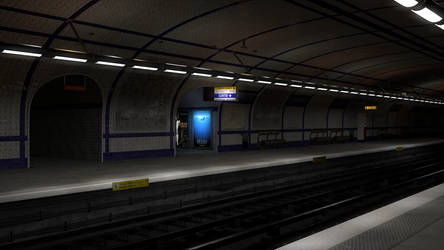 Metro Station by turjuque
