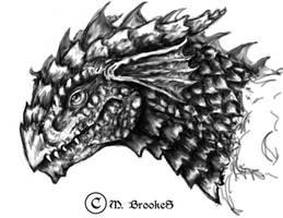 Wyrmling - Red Dragon by she1badelf