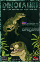 Papo Dinosaurs Poster by she1badelf